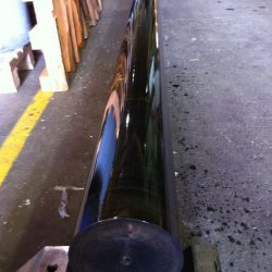 6m Long Rod Flame Hardened O.D. and Straightened