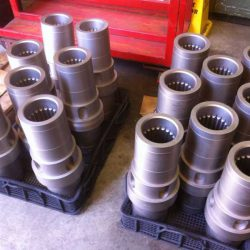 Splined Cuplings Nitrided