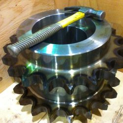 Chain Sprocket Teeth Flame Hardened