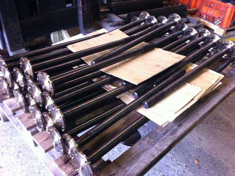 Toyota 4WD Axles Induction Hardened, Staightened and Tempered
