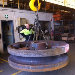 5 Tonne Liebherr Idler Wheel Flame Hardened and Tempered
