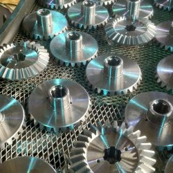 Bevel Gears for Case Hardening