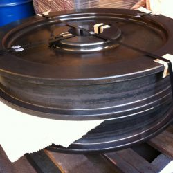 Crane Wheels Spun Flame Hardened