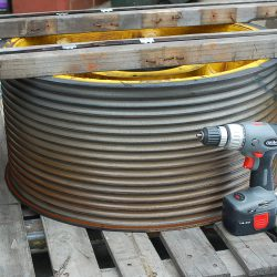 Elevator Sheave Flame Hardened Rope Grooves