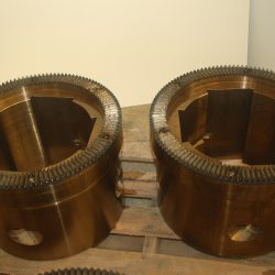 Flame Hardened Teeth on Couplings