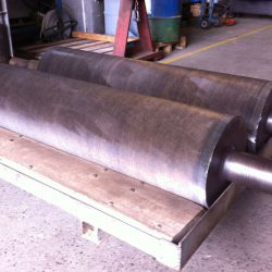 Grain Feed Rolls Flame Hardened