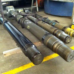Hydraulic Piston Rods Flame Hardened and Straightened