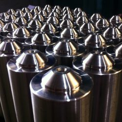 Pivot Pins to be Induction Hardened for Machinery in the Forrestry Industry