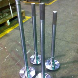 Replacement Auto Axles for Induction Hardening